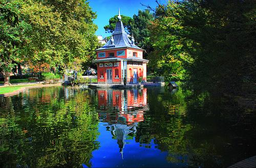 Jardines del retiro parque del retiro en madrid for Parque del retiro madrid