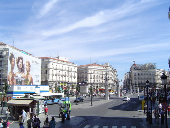 Puerta del sol in madrid spain for Puerta del sol madrid fotos
