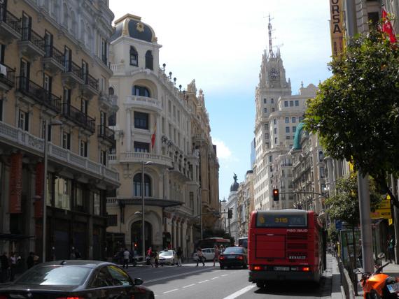 Madrid 1 Centre Ville De Madrid Photo Tour Accueil