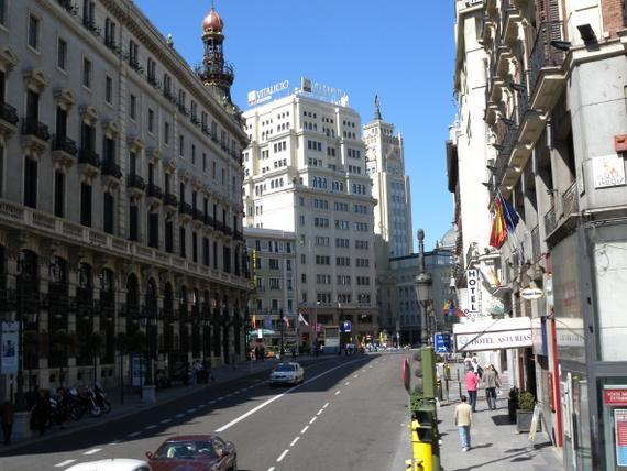 Madrid 26 Centre Ville De Madrid Photo Tour Accueil