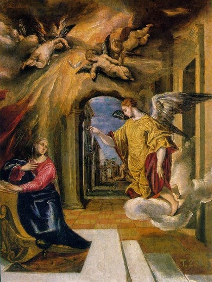 El Greco Annunciation / Madrid Art Collection / Photo tour ...