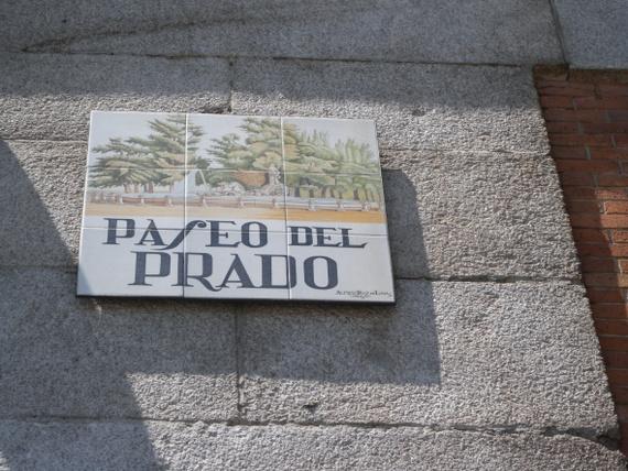 Calle madrid 14 street name signs madrid photo tour for Calle del prado 9 madrid espana